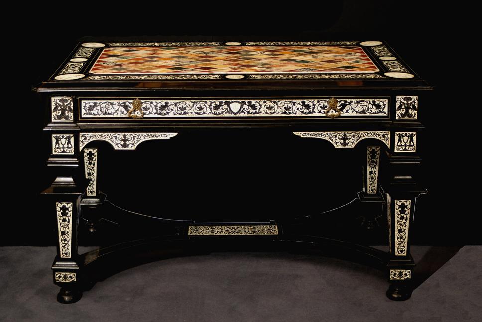 Tavolo da centro Ferdinando Pogliani e manifattura romana