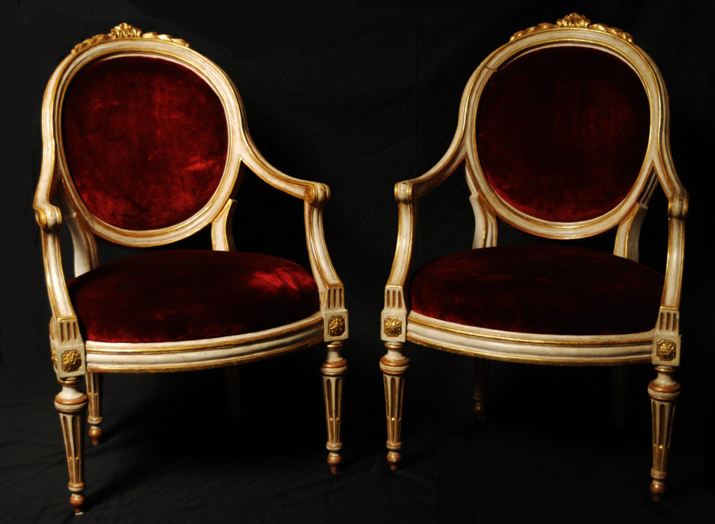Louis XVI armchairs