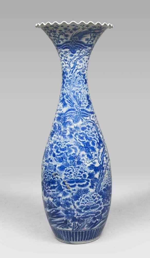 "A large vase ""Tulip"""