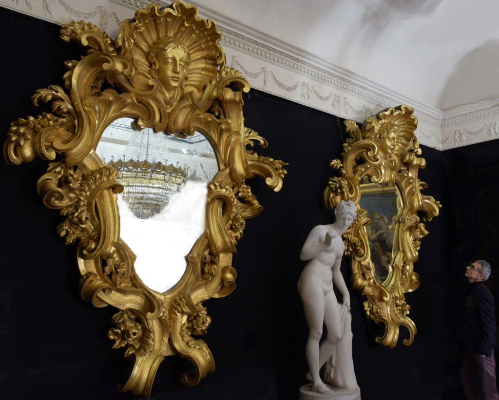 A pair of monumental mirrors (1)