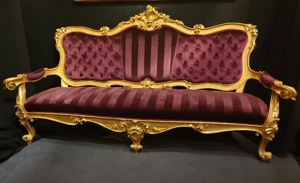 A big roman sofa